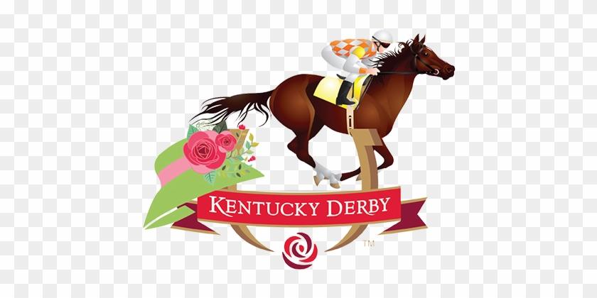 Kentucky Derby Horses - Horse Racing Clip Art #288455