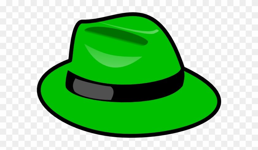 Green Hat Clip Art At Clkercom Vector Online Royalty - Green Thinking Hat Png #288464