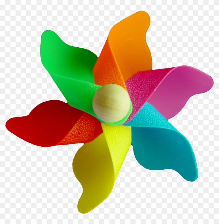 Colorful Pinwheel Cliparts 9, - Fast Shutter Speed Photography #288504