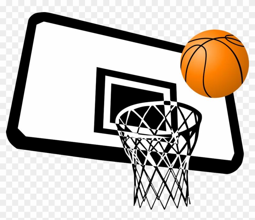 Basketball Court Slam Dunk Clip Art - Basketball Court Slam Dunk Clip Art #288558