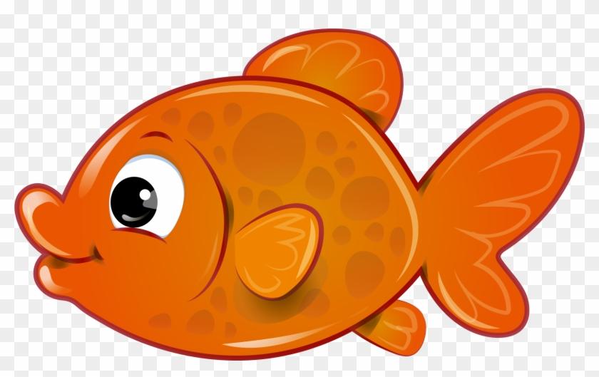 Orange Pinwheel Cliparts 20, - Clipart Gold Fish #288524