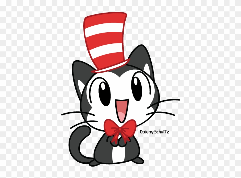 Chibi The Cat In The Hat By Daieny On Deviantart - Cat In The Hat Chibi #288526