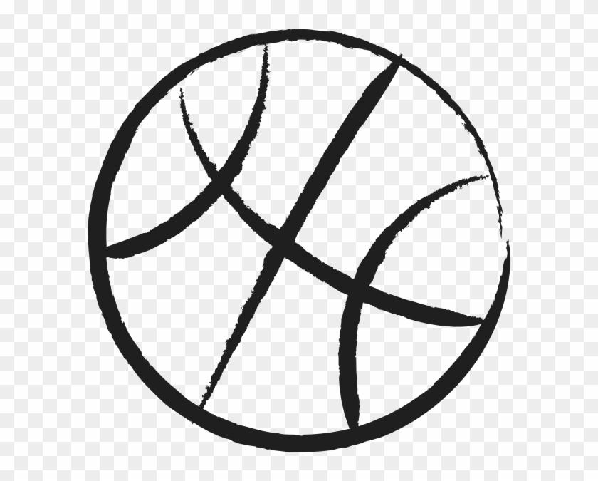 Black And White Basketball Clip Art #288546