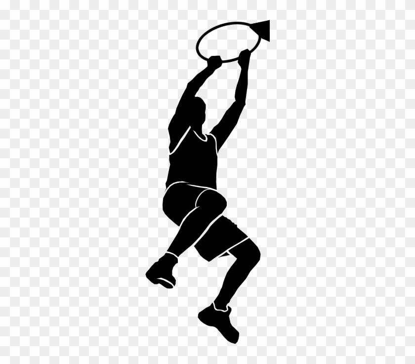 We Proudly Back The Genuine Hercules Basketball Goal - Basketball Dunk Transparent Logo #288576