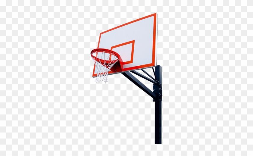Basketball Hoop Border Free - Basketball Hoop Png Transparent #288581