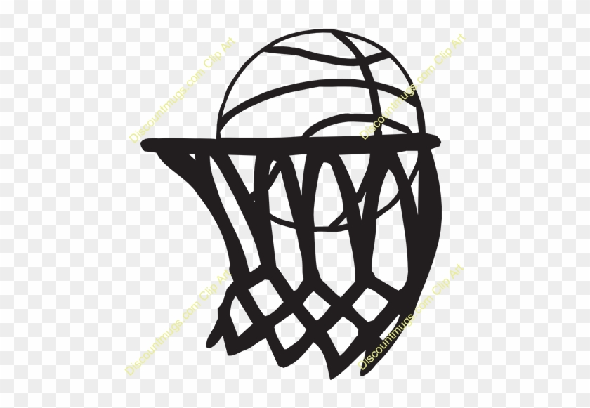 Free Ball In Hoop Clipart - Netball Images Clip Art #288589
