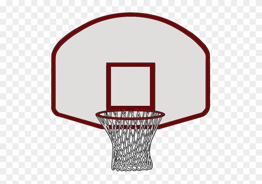 Rim Basketball Clipart - Draw A Basketball Rim #288628