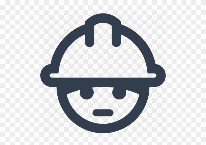 Builder, Construction, Face, Helmet, Ingineer, Man, - Renovation Icon #288629