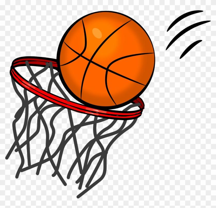 Basketball Hoop Clipart - Clip Art Basketball #288641