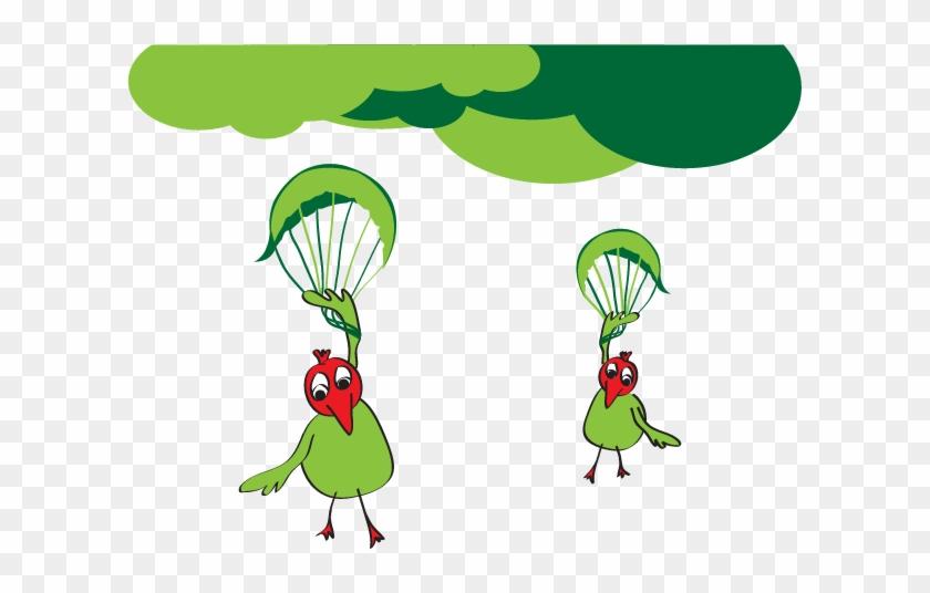 Bird Cartoon Illustration - Illustration #288653