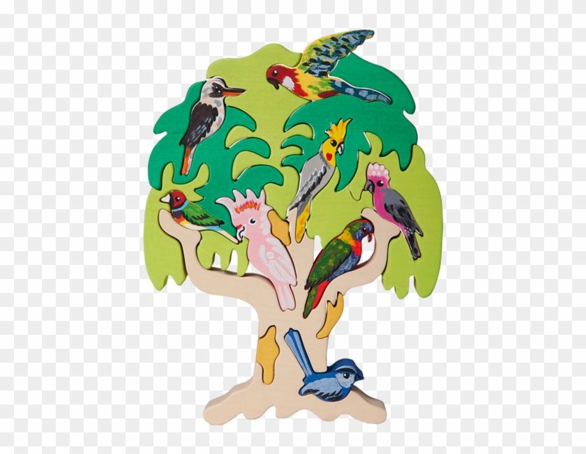 Australian Bird Tree Puzzle - Puzzle #288656