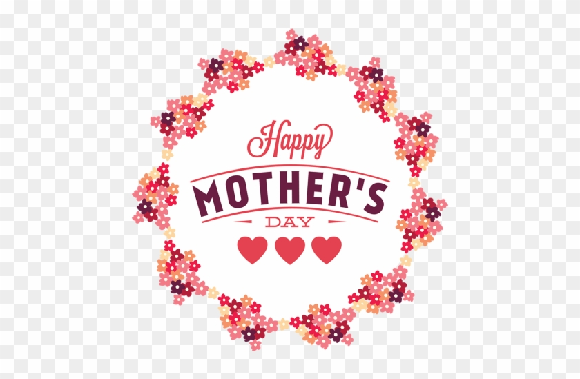 Color Flower Mother's Day, Color Flowers, Day, Mom - Illustration #288666