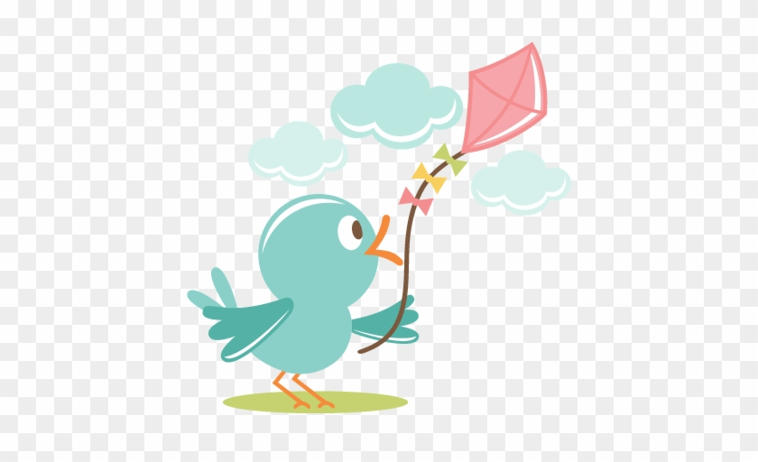 Flying Clipart Miss A - Cute Bird Flying Png #288675