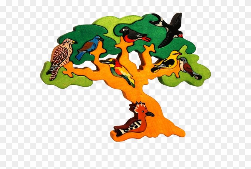Migratory Bird Tree Puzzle - Toy #288714