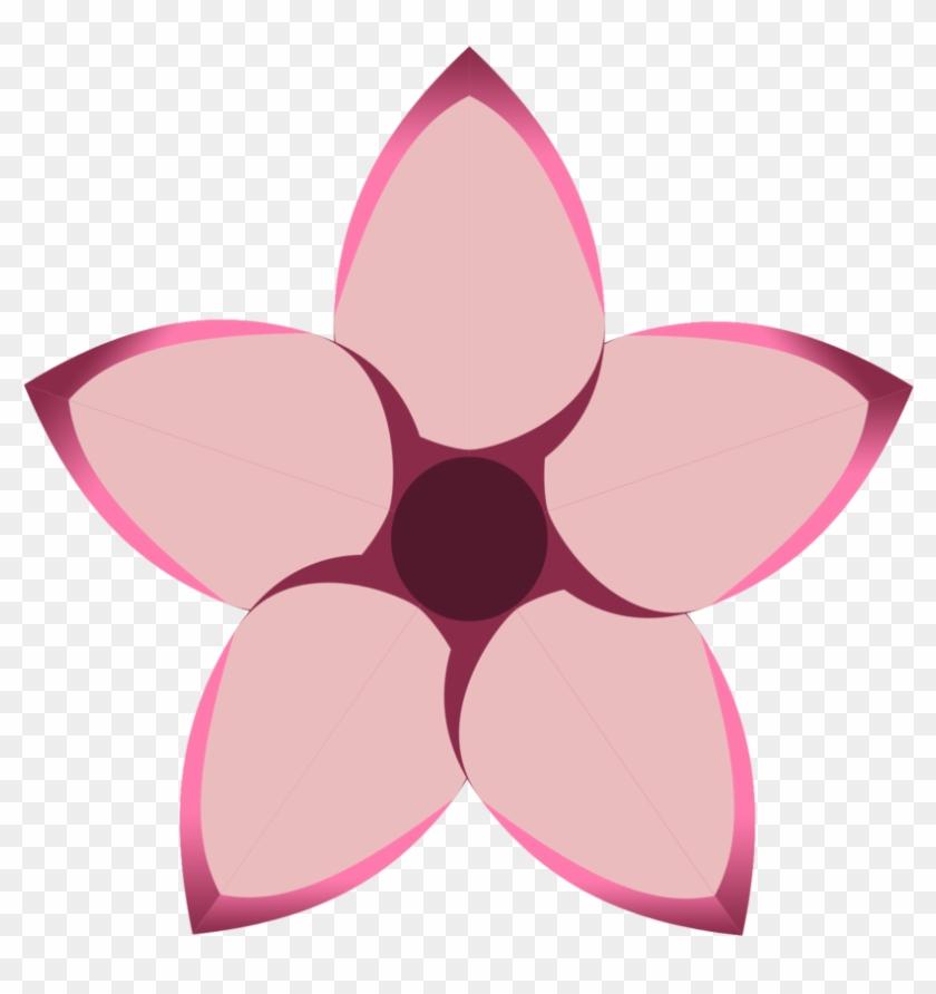 Queen Thea Orkan's Cutie Mark - Pink Flower Cutie Mark #288726