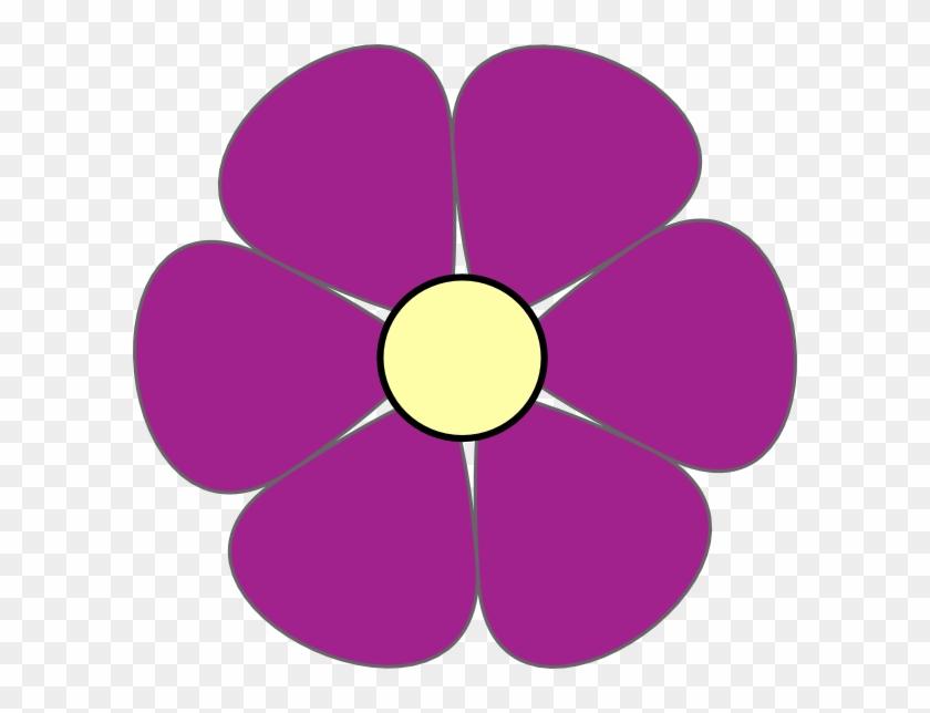 Purple Flower Clipart #288760