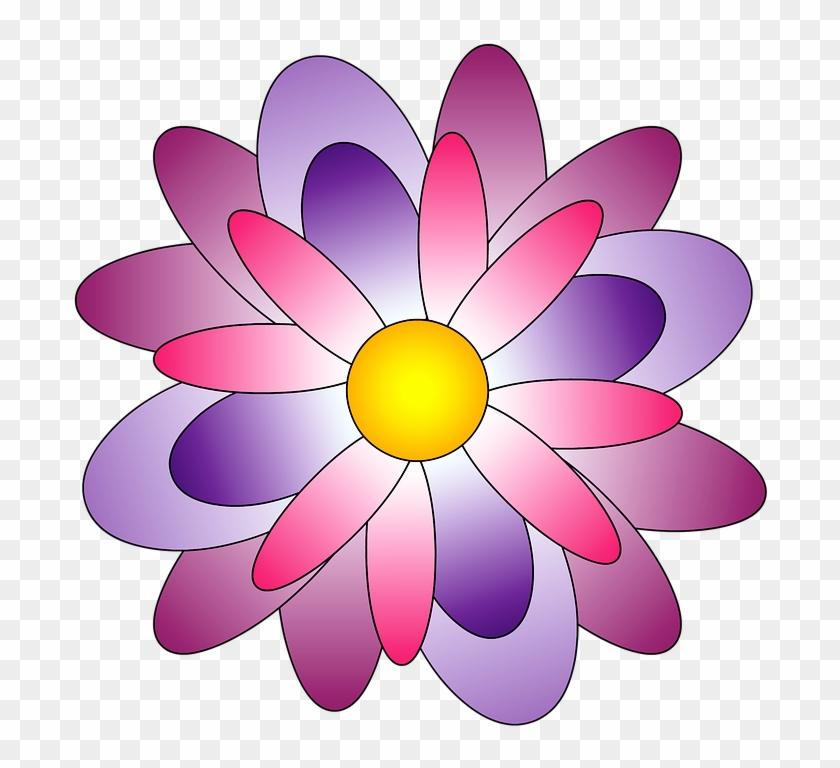 Cartoon Lotus Flower 23, Buy Clip Art - Çiçek Resmi Çizimi Renkli #288777