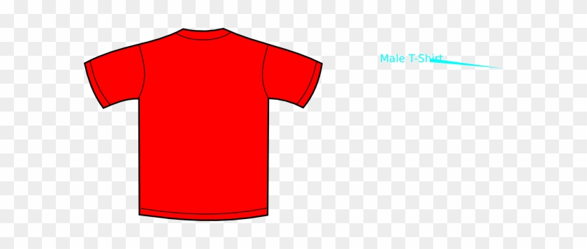 Red Clipart - Red Shirt Clipart #288779
