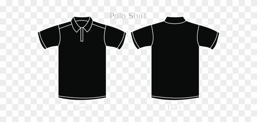 Black Polo Shirt Clip Art - Polo Black T Shirts #288780