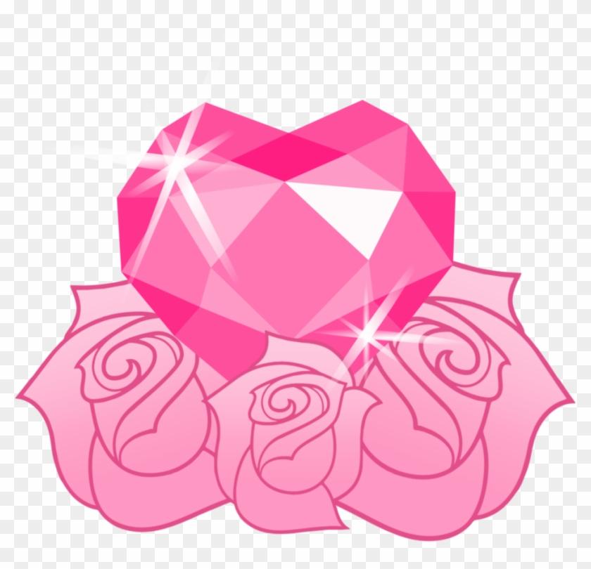 Pinky Rose's Cutie Mark By Viexy - Crystal Heart Cutie Mark #288806