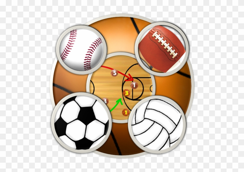 6 Sports Clipboards & Scoreboard For Kindle, Tablet, - Sports Football Baseball Basketball Volleyball #288817