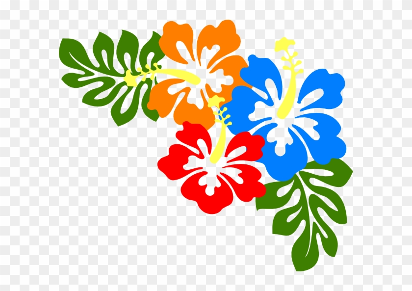 This Free Clip Arts Design Of Keanu S Hibiscus - Hawaiian Flowers Transparent Background #288825