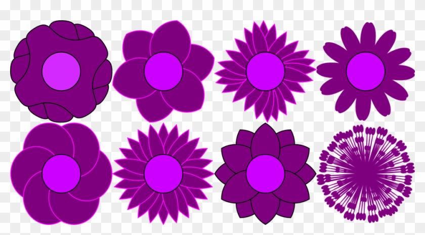 Flower Shapes Cliparts - Flower Shapes #288847