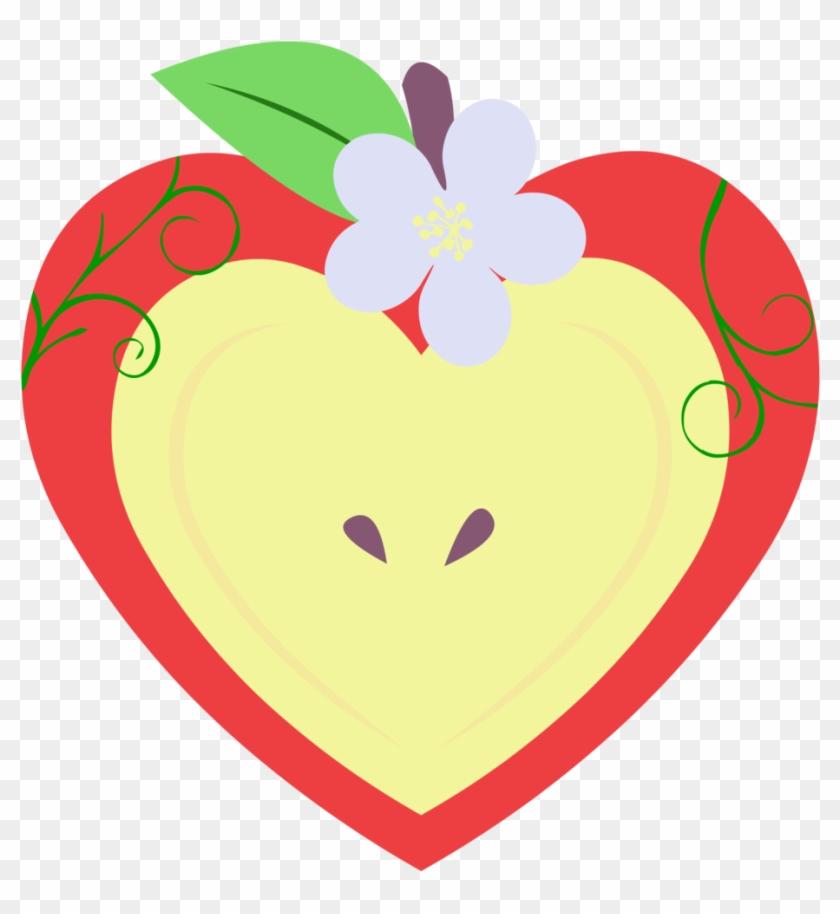 My Little Pony Apple Blooms Real Cutie Mark - Mlp Apple Bloom's Cutie Mark #288855