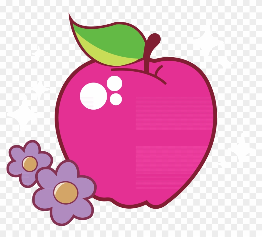 My Little Pony Friendship Is Magic What Should Be Apple - My Little Pony Cutie Mark Apple #288884