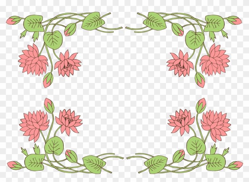 Jpg Download - Line Of Flowers #288890