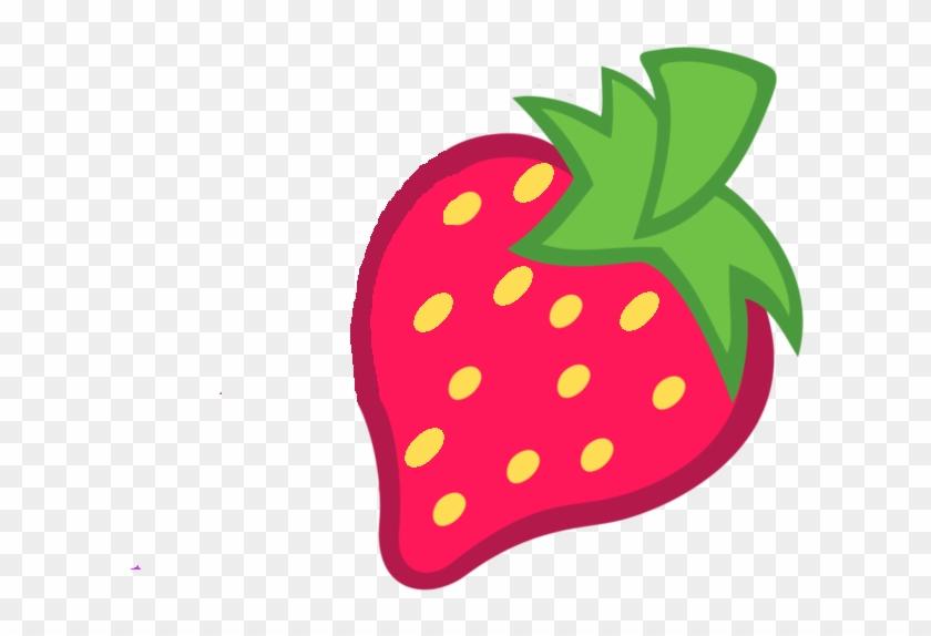 Strawberry Cutie Mark By Cadence121 On Deviantart - Mlp Cutie Marks Strawberry #288908