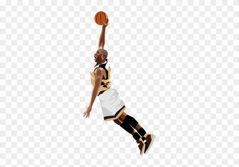 Basketball - Border - Clip - Art - Nba Slam Dunk Png #288922
