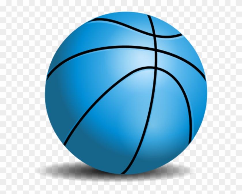 Basketball Clipart - Blue Basketball Png #288926