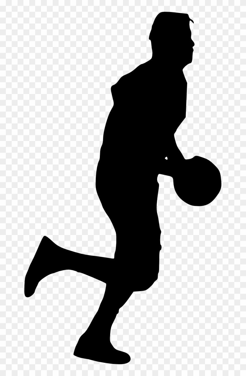 Free Download - Transparent Basketball Player Silhouette Png #288929