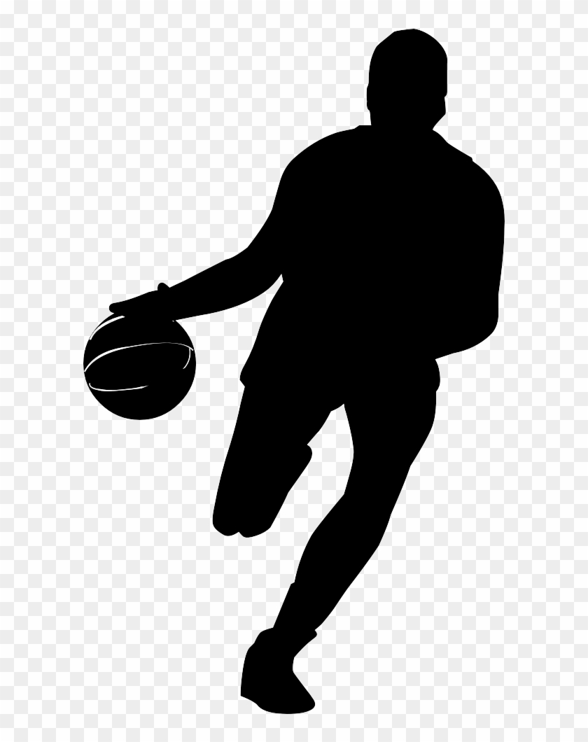 Basketball Player Silhouette Png #288944