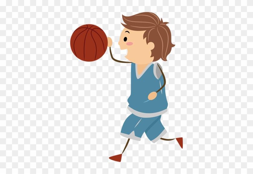 Young Basketball Player Kids Decal - Niño Basketball Png #288985