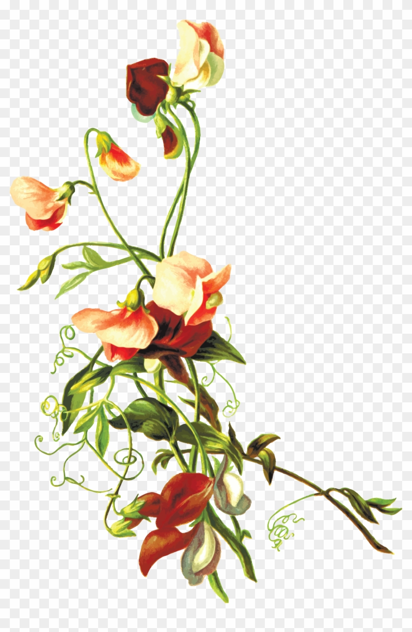 Free Clipart Of Flowers - Flower Leaf Png #289072