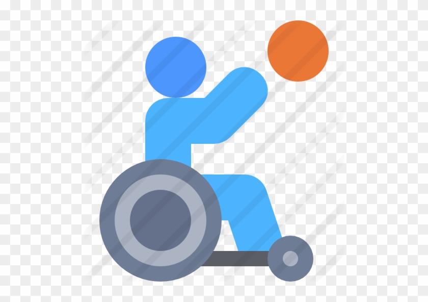 Wheelchair Basketball - Circle #289068
