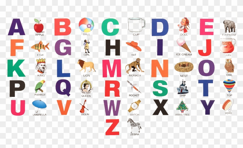 A To Z Alphabets Png Pic - Alphabet A To Z #289113
