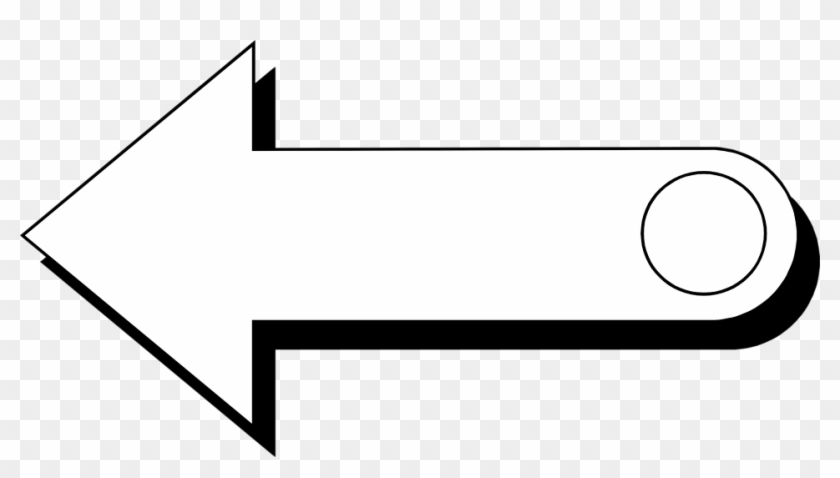 Illustration Of A Left Pointing Arrow - Arrow #289127