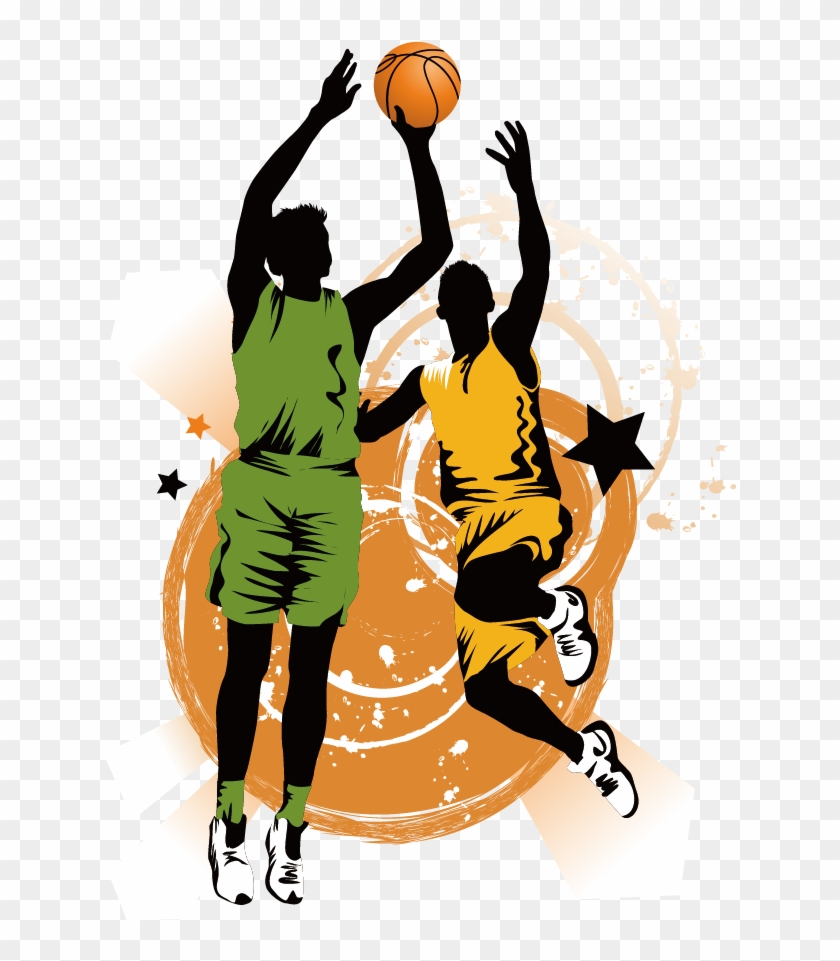 Basketball Slam Dunk Clip Art - 100 Of The Top Defensive Players In Basketball Of All #289148