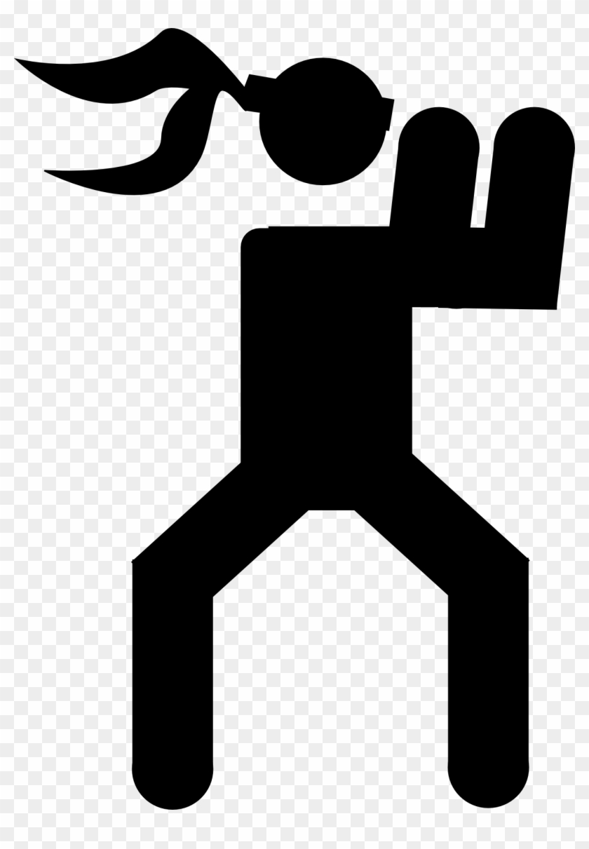 Free Shooting Cliparts, Download Free Clip Art, Free - Symbols Of Self Defence #289181