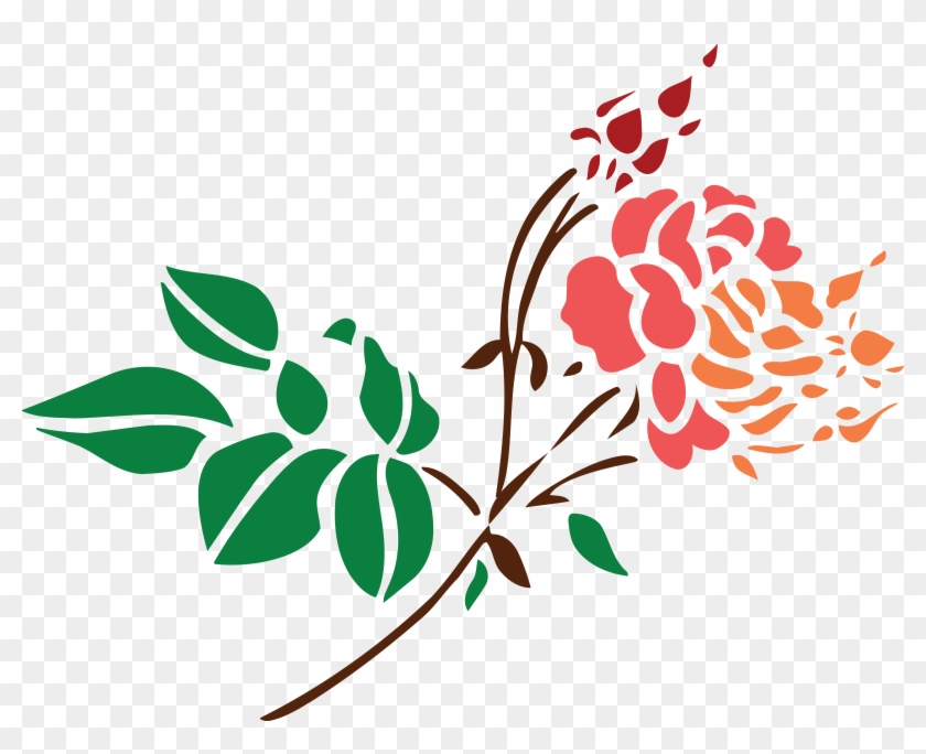 Free Clipart Of A Stem Of Roses - Portable Network Graphics #289221