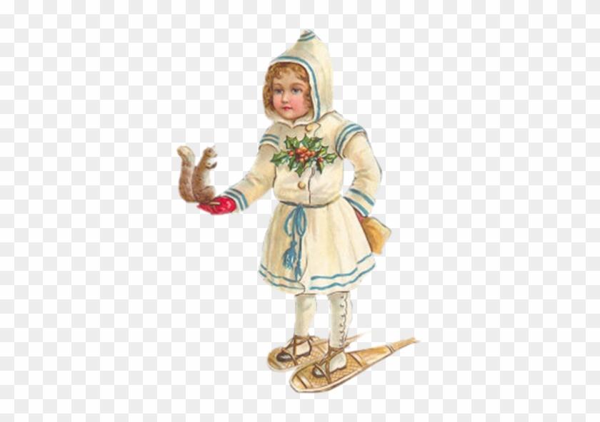 Vintage Snowshoe Cliparts - Noel Vintage Centerblog #289222