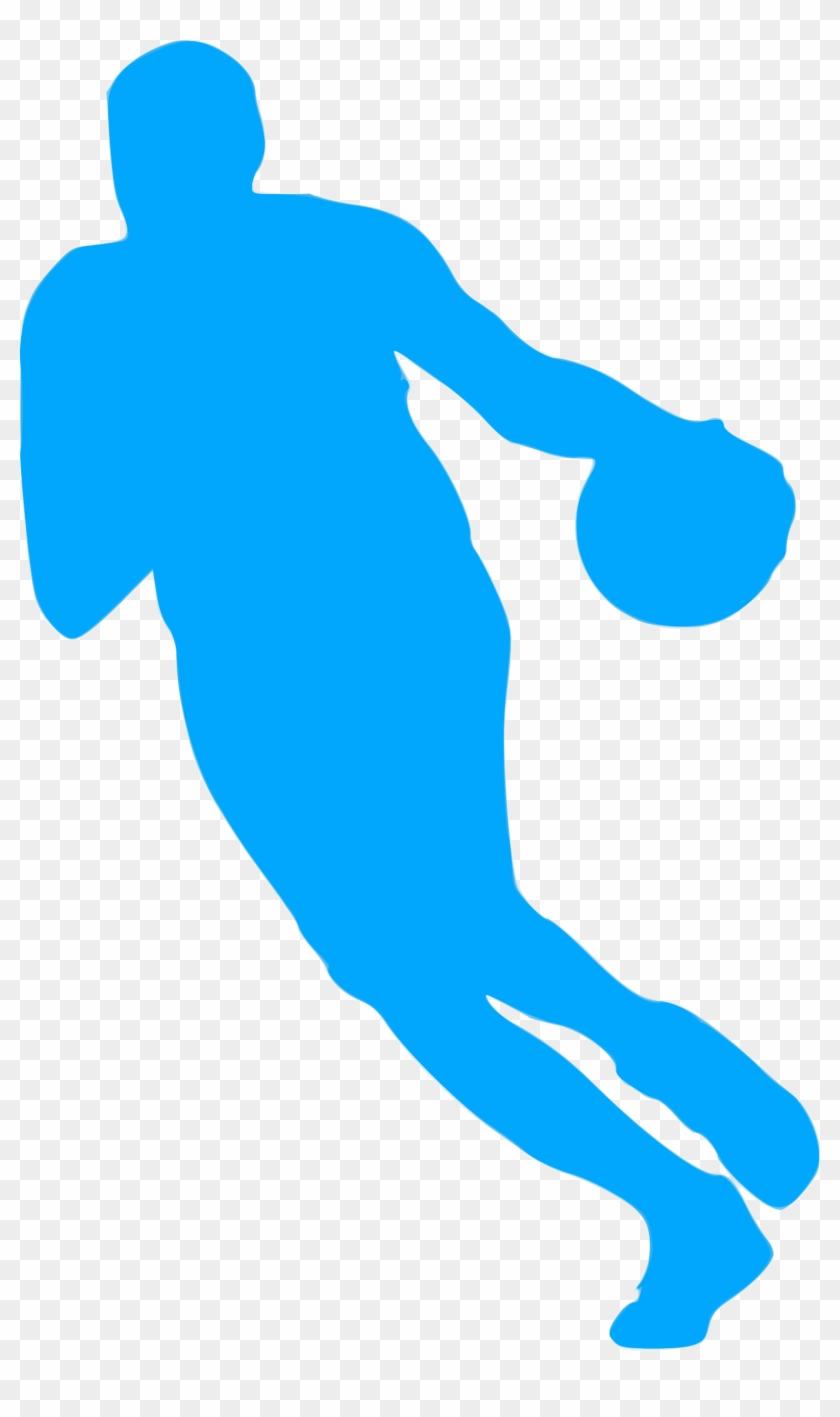 Basketball Slam Dunk Football Player Clip Art - Basketball Slam Dunk Football Player Clip Art #289260