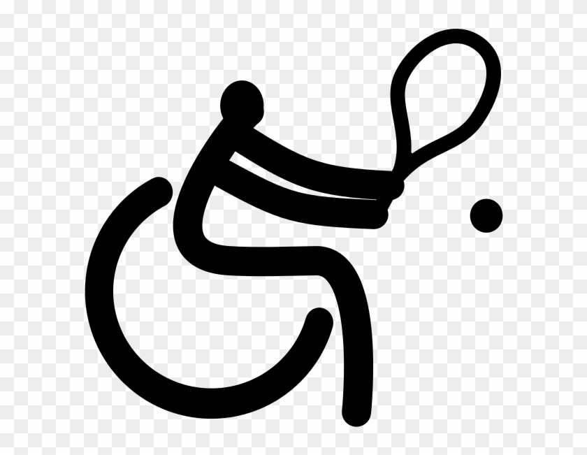 251 × 240 Pixels - Wheelchair Tennis Pictogram #289242