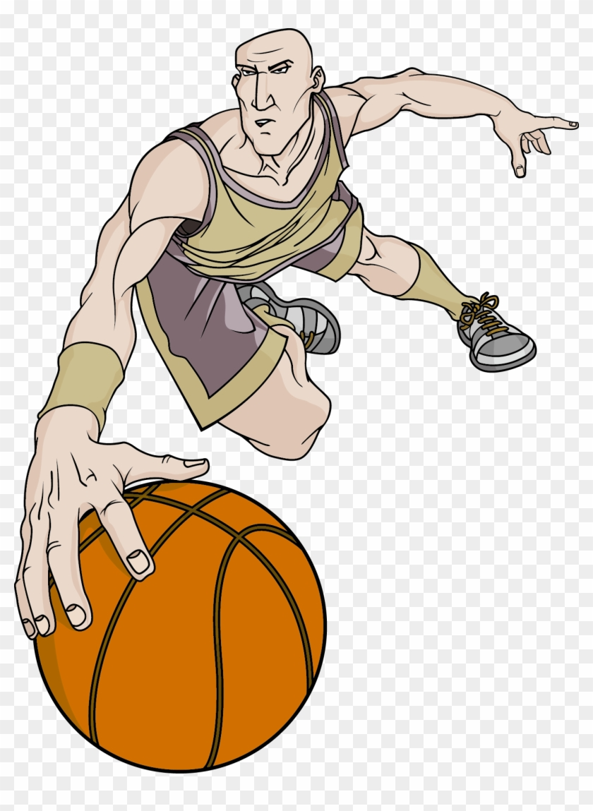 Basketball Player Athlete Sport Slam Dunk - Basketball Player Athlete Sport Slam Dunk #289320