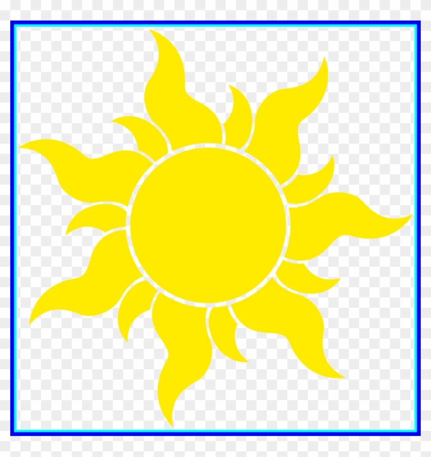 Marvelous Sunflower Graphics Clipart Best Image Of - Rapunzel Sun #289278