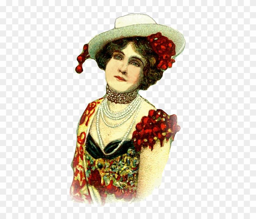 Woman, Lady, Vintage, Girl, Fashion, Female, Beauty - Vintage Clothing #289293