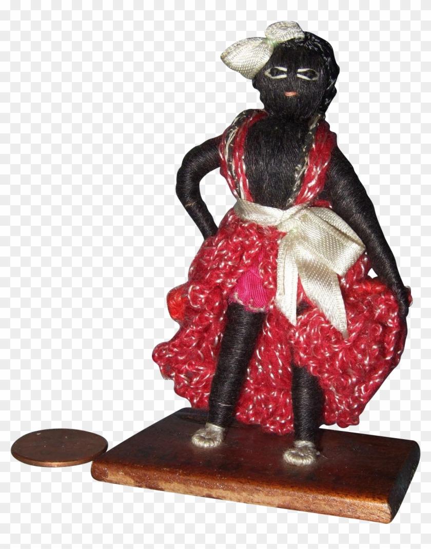 Vintage Cuban Souvenir Doll - Figurine #289310